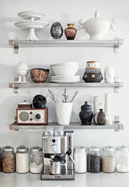 Otwarte Półki W Kuchni Tak Czy Nie Bitedelite